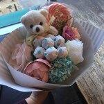 화이트데이 꽃다발선물, 또봄 사탕꽃다발/사탕부케 : )