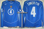 """04/06 Russia Away L/S No.4 """"Smertin"""" Player Issue WC06 Qualifier Ver. (SOLD OUT)"""