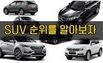 국내 SUV 판매순위