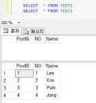 MS SQL MERGE 사용하기