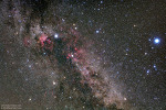 Cygnus, Lyra, and Milky Way