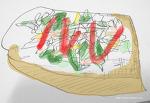 플레인 손그림 - 토스트