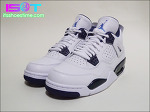 "Air Jordan 4 Retro LS ""White/Legend Blue"" - IST Review 