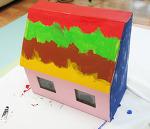 종이 상자로 장난감 정리함 만들기