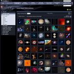 허블우주망원경 (HST)이 찍은 멋진 사진들이 있는 사이트