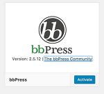 bbpress플러그인에 대한 설명
