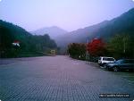 도락산의 가을 풍경
