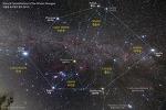 Stars & Constellations of the Winter Hexagon