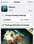 """아이폰 전반적인 속도향상에 도움을 주는 """"Nitrous"""""""