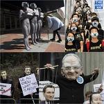 해외에서 '복면시위'를 금지한 이유는 극우때문이었다.