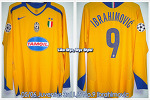 05/06 Juventus 3rd L/S No.9 Ibrahimovic Match Worn (Vs.Rapid Vienna, 12 Jul 05) (SOLD OUT)