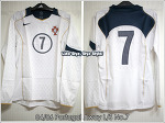 04/06 Portugal Away L/S Player Issued No.7 (Sold Out)