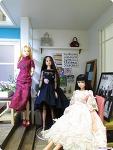 감자공방 룸박스 안의 미녀 셋