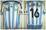 06/08 Argentina Home S/S No.16 Aimar Formotion (SOLD OUT)