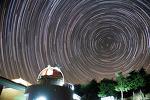 Star trails around Polaris 북극성 주변의 별 일주