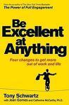 Six Keys to Being Excellent at Anything (모든 것에 뛰어나게 하는 에너지 관리 6가지 방법)