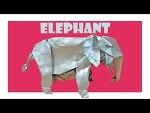 고급 아프리카 코끼리 (Shuki Kato) 동물 종이접기 동영상