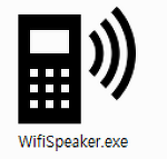 Wifi Speaker (PC소리를 휴대폰으로 듣기) * 버전 2