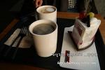 조각케익과 커피 한잔의 주말