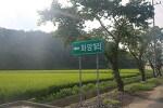 늦여름에 연꽃의 향기에 취할 수 있는 마을
