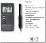 다아라몰,산업백화점에 등록된 온습도/이슬점 측정기 HT-315 제품정보 입니다