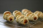 치즈 돌돌 소시지빵 만들기