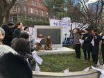 오늘 배재어린이공원에 항일독립운동여성상이 세워졌습니다.