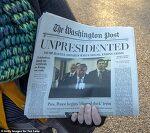 트럼프 5월에 사임 가짜 워싱턴포스트 논란