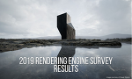 2019 Architectural Visualization Rendering Engine Survey - RESULTS