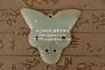X244. 홍산문화 석 -여기저기 알튐 및 산화된 부분이 보임- 32g