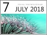 2018년 7월 주식시장 주요 일정. 제헌절은 공휴일?