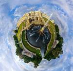 소행성파노라마로 만들어진 세계 각국의 도시 풍경