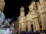 2018.11.16 신혼여행 - 로마 야경, 나보나광장