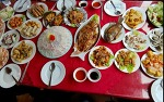 베트남 하롱베이 투어, 하롱베이 선상 씨푸드와 활어회 후기