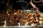 홍콩에 도착, 먹고 먹고 먹기 :피에르에르메(IFC몰), 꼬치구이와 샌드위치, 딤섬