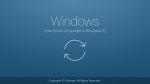 윈도우10 자동 업데이트 중 취소 중지 하는 방법