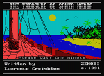 Treasure of Santa Maria, The : Zenobi Software 1991