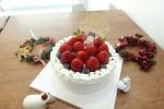 크리스마스 딸기 생크림 케이크 1호 & 2호