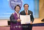 세계평화작가 한한국 석좌교수, 올해를 빛낸 인물대상 '세계평화대상' 수상