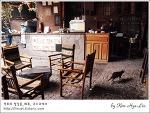 [적묘의 페루]고양이가 있는 카페,쿠스코 피삭에서, Pisac, 작은 마추픽추