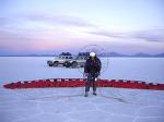 모터 패러글라이더를 타고 사진을 찍는 조지 스타인멧츠(George Steinmetz)