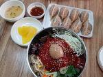 산들분식 쫄면 만두