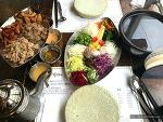 무한리필 월남쌈을 즐길 수 있는 홍대 <쌈마니>에서 식사