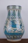 AC122. 도자기 병 -여기저기 알튐및 가마유가 보여짐- (2.7kg)