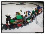 홀리데이 기차 - 레고 크리에이터 (Winter Holiday Train, Lego Creator)