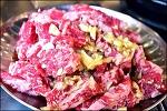 불대포-양념 소갈비살 맛있게 먹다