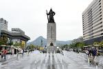 한글날 광화문광장 풍경, 경복궁, 청와대 앞