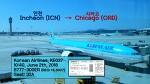 [180602] 인천-시카고 (ICN-ORD), 대한항공 (KE37), B777-300ER 탑승기