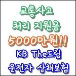 KB The드림운전자상해보험 - 교통사고 처리 지원금 5000만원