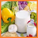 다이어트에 좋은 음식과 관계, (달걀, 사과, 브로콜리, 보리, 오트밀, 아몬드, 자몽, 생선, 샐러드)